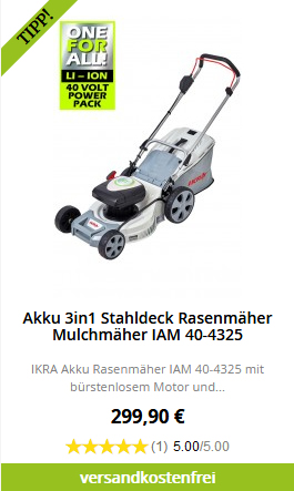 IAM 40-4325 Produktbewertung