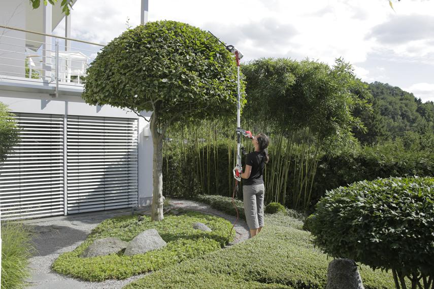 IKRA Kombi Gartengerät ITHK 800 Teleskop Heckenschere