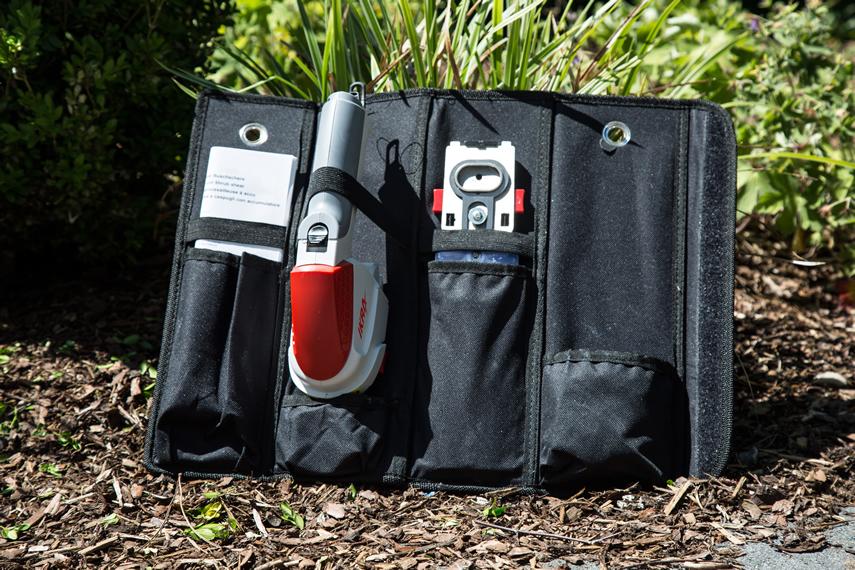 Grasschere und Strauchschere IGBS 1054 LI in Tasche
