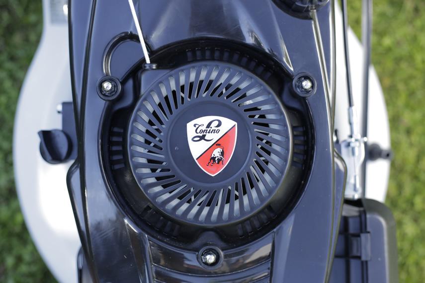 IKRA Benzin Rasenmäher IBRM 1448 E Tonino Lamborghini Motor