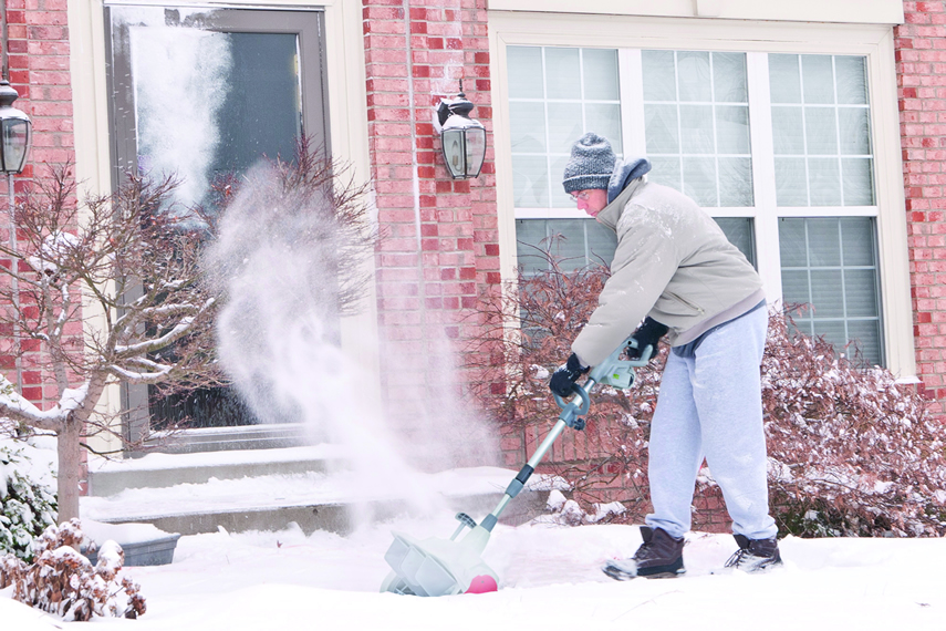 Schneefräse von IKRA für den Winterdienst