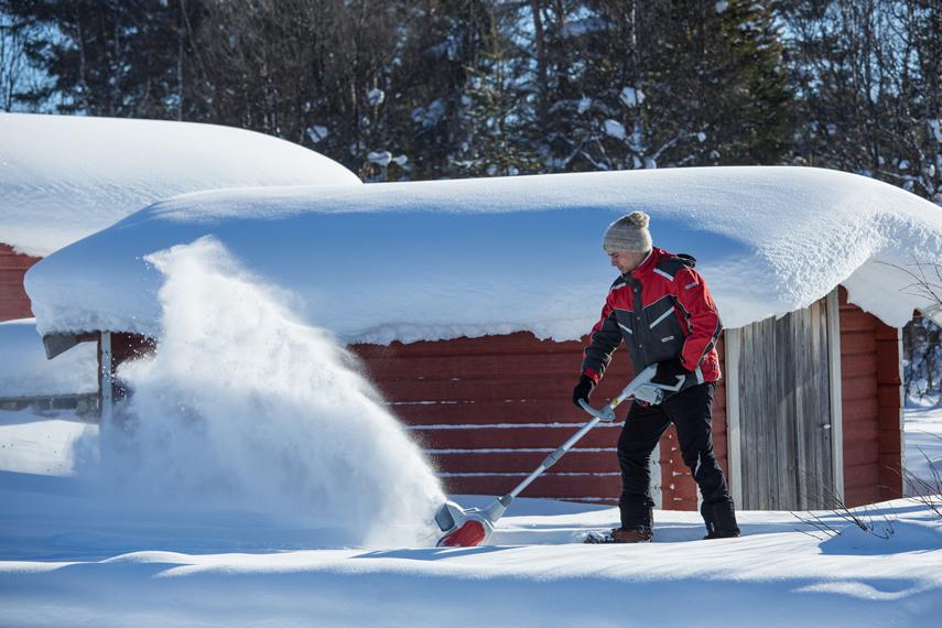 IKRA Schneefräse Schneeschieber IAF 40-3325 Schneeräumung