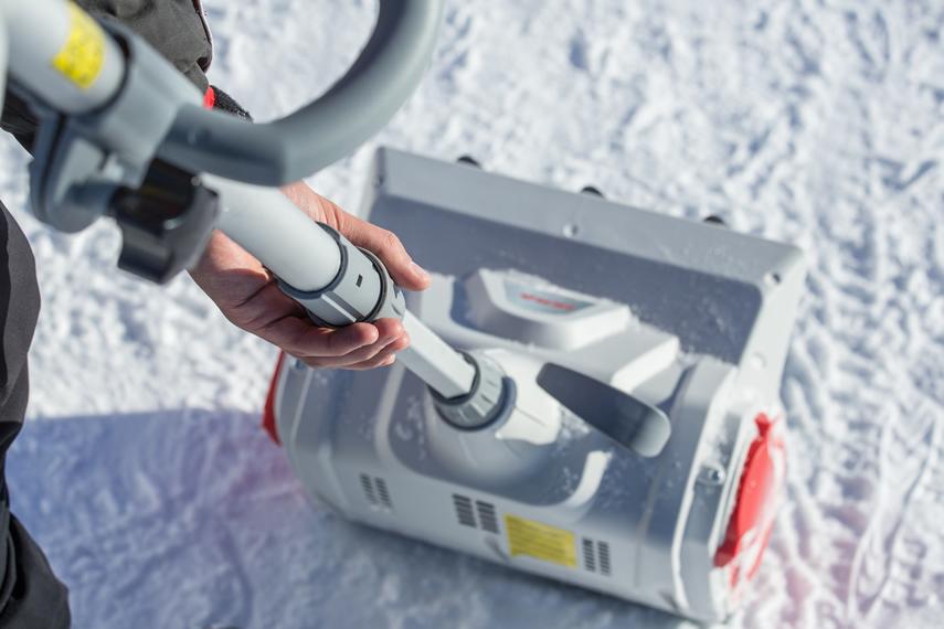 IKRA Akku Schneefräse Schneeschieber IAF 40-3325