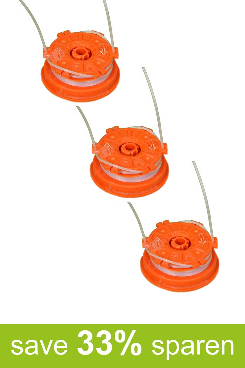 Fadenspule Ersatzspule Spule DA-S (Vorteilspack 3er Set)