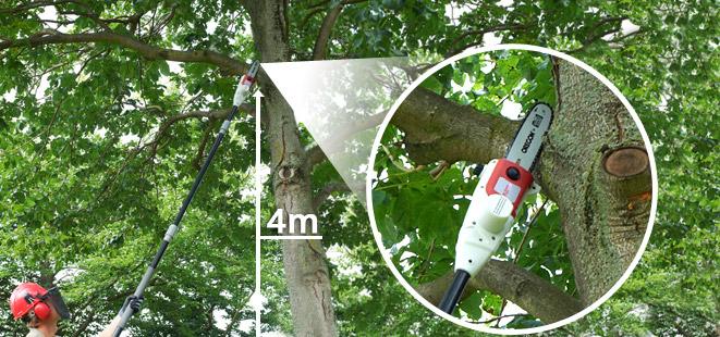 Teleskop Astsäge für bis zu 4m!