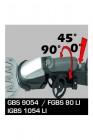 Fahrwerk für Grasschere Strauchschere GBS 8050, GBS 9054, FGBS 80 LI & IGBS 1054 LI
