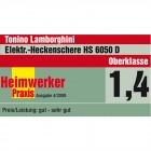 Elektro Heckenschere HS 6050 D