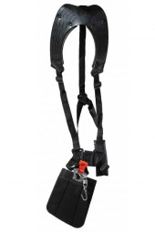 Double shoulder strap incl. hip protection