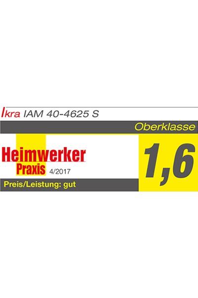 Akku 3in1 Stahldeck Rasenmäher Mulchmäher IAM 40-4625 S