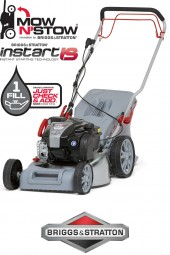 Benzin 4in1 Rasenmäher Mulcher IBRM 46S-BS575IS Briggs & Stratton Motor