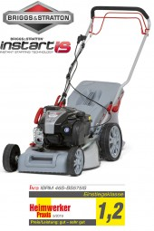 Petrol Lawn Mower incl. Mulching IBRM 46S-BS575IS Briggs & Stratton engine