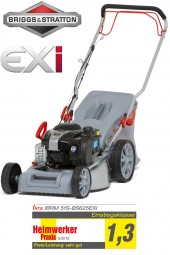 Petrol Lawn Mower incl. Mulching IBRM 51S-BS625EXI Briggs & Stratton engine