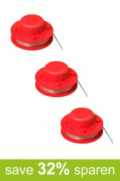 String Trimmer Replacement Spools A (3-Pack)