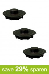 String Trimmer Replacement Spools BK (3-Pack)