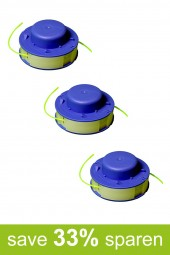 String Trimmer Replacement Spools D (3-Pack)