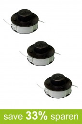 String Trimmer Replacement Spools DA (3-Pack)