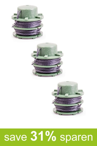String Trimmer Replacement Spools DA-C1 (3-Pack)