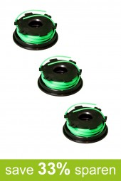 String Trimmer Replacement Spools DA-F1 (3-Pack)