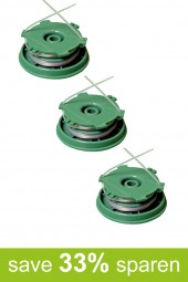 String Trimmer Replacement Spools DA-F11 (3-Pack)