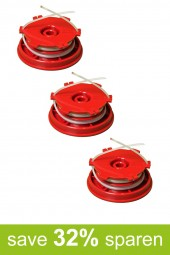 Fadenspule Ersatzspule Spule DA-F12 (Vorteilspack 3er Set)