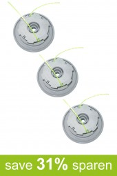 String Trimmer Replacement Spools DA-F13 (3-Pack)