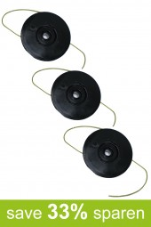 String Trimmer Replacement Spools DA-F15 (3-Pack)