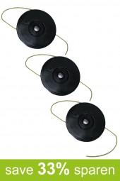 Fadenspule Ersatzspule Spule DA-F15 (Vorteilspack 3er Set)