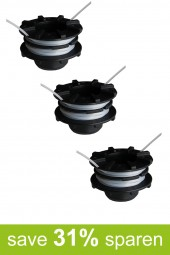 String Trimmer Replacement Spools DA-F16 (3-Pack)