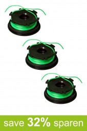 String Trimmer Replacement Spools DA-F2 (3-Pack)