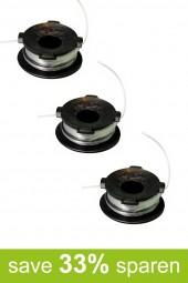 Fadenspule Ersatzspule Spule DA-F9 (Vorteilspack 3er Set)