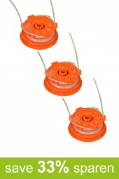 String Trimmer Replacement Spools DA-S (3-Pack)