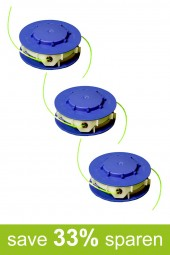 String Trimmer Replacement Spools DV (3-Pack)