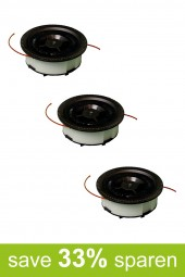 String Trimmer Replacement Spools VA/2 (3-Pack)