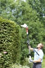 Electric Telescopic Hedge Trimmer THS 500 PRO FlexoTrim