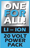 20 Volt ONE FOR ALL