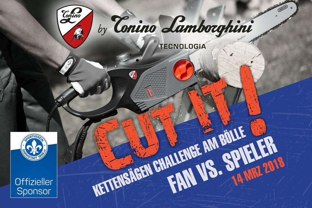 Tonino Lamborghini Kettensägen Challenge 2018