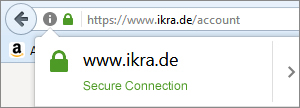 IKRA Browser Secure Connection