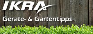 IKRA Gartentipps