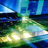 Lasergeschnittene Messer