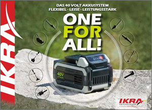 brochure IKRA 40V ONE FOR ALL English