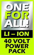 IKRA 40 Volt ONE FOR ALL