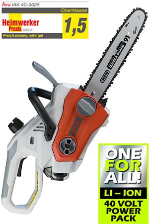 IKRA Cordless Chainsaw IAK 40-3025