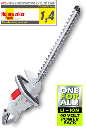 IKRA Cordless Hedge Trimmer IAHS 40-5425