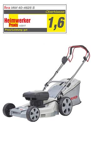 IKRA Cordless Lawn Mower IAM 40-4625 S