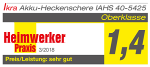Produkttest Heckenschere IAHS 40-5425