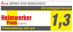 Produkttest IBRM 51S-BS625EXI