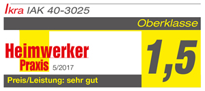 Produkttest Kettensäge IAK 40-3025