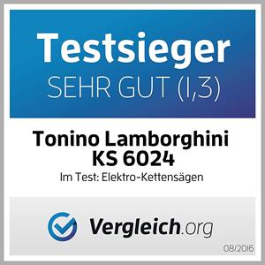 Testsieger Vergleich.org Elektro Kettensäge KS 6024